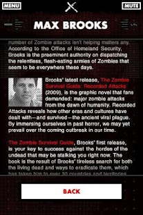 Zombie Survival Guide Scanner - screenshot thumbnail