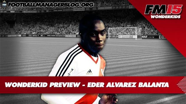 Eder Alvarez Balanta Football Manager 2015