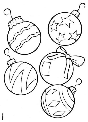Imagenes Bolas De Navidad Para Colorear.Colorear Bolas De Navidad