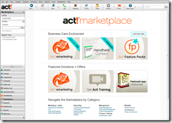 Act! v17Marketplace
