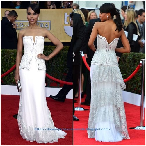 Kerry Washington arrives at the 19th Annual Screen Actors Guild Awards (3)