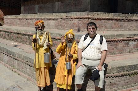 Obiective turistice Kathmandu: sadhu Nepal