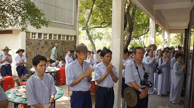 DSC06390 Lễ Hiệp kỵ   Lễ Huý Nhật Cư sĩ Sáng lập viên GĐPT Việt Nam   Tâm Minh Lê Đình Thám