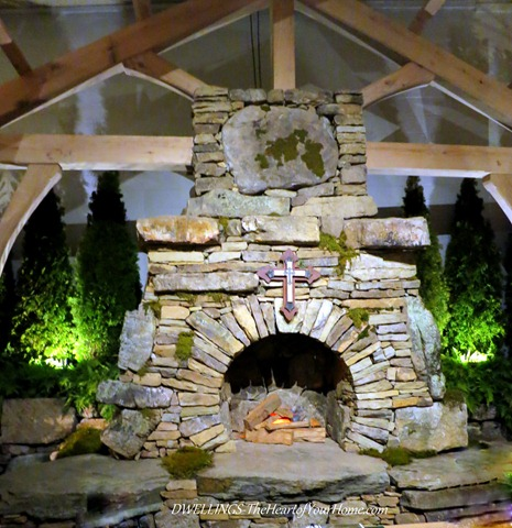 Southern Spring Show Fireplace