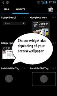 Invisible Dial Tag- screenshot thumbnail