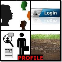 PROFILE- 4 Pics 1 Word Answers 3 Letters