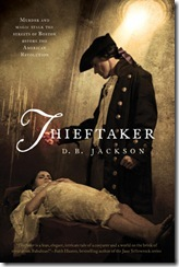 book cover of Thieftaker by D.B. Jackson