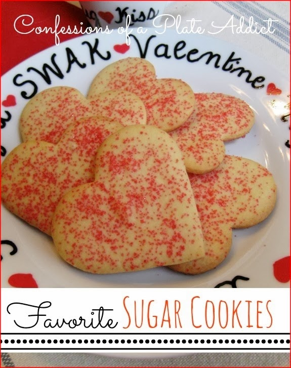 CONFESSIONS OF A PLATE ADDICT Favorite Sugar Cookies