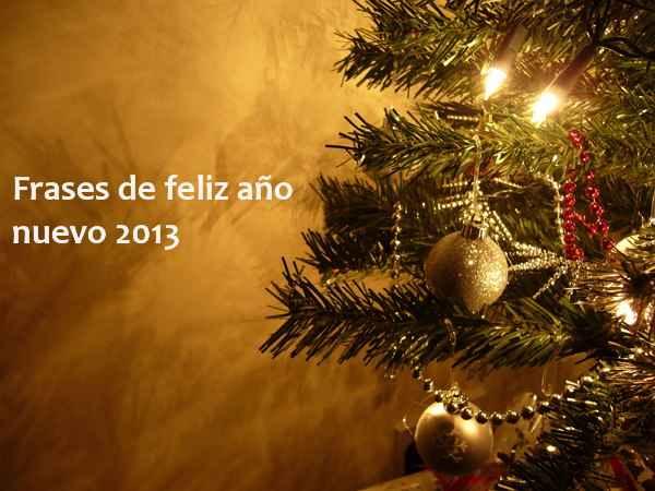 Frases de feliz año nuevo 2013