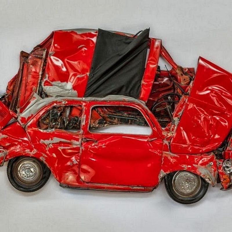 Ron Arad: Crushing Cars for Art