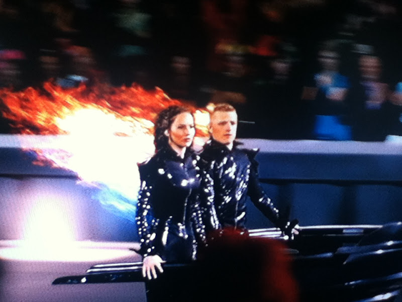katniss obviously not really on fire