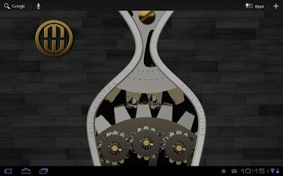 Luxus Ebony HQ Clock Widget APK screenshot thumbnail 6