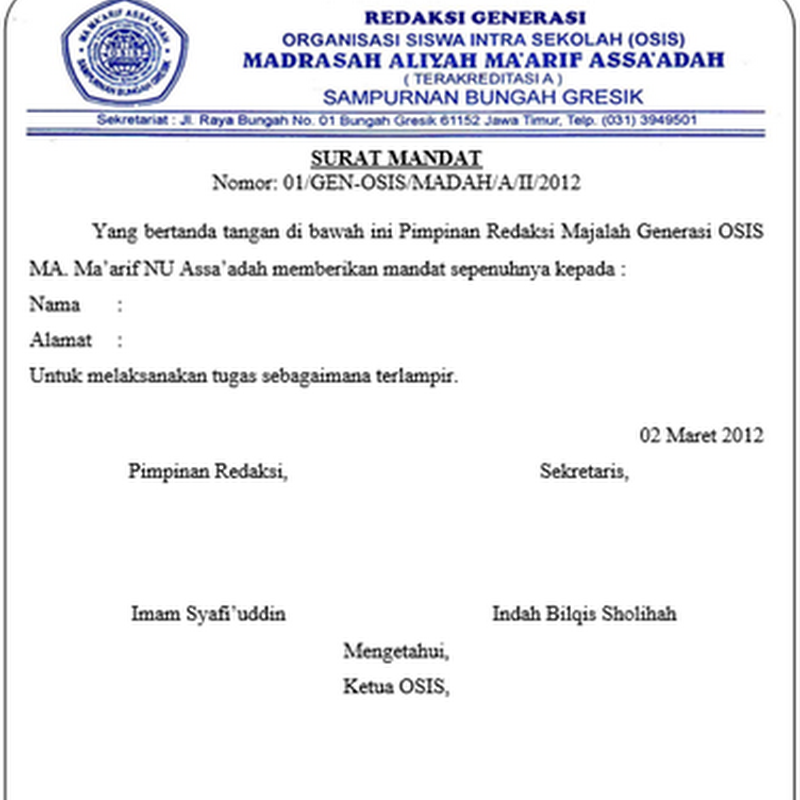 Contoh Surat Undangan Osis Untuk Sekolah Lain Suratsuratxyz