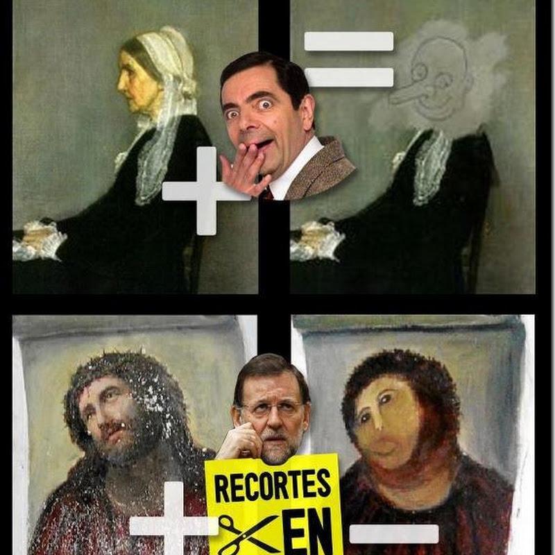 Rajoy, los recortes y el Ecce homo de Borja