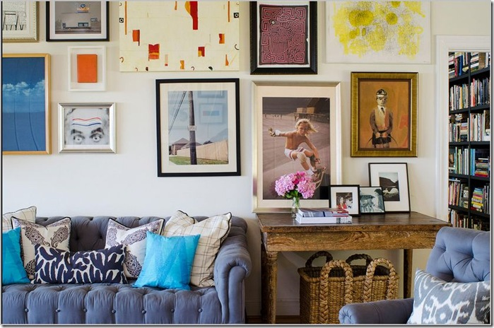Gallery Walls: Keeping Them in Place