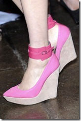 DKNY SPRING 2012 RTW Pink shoes ShoesNBooze