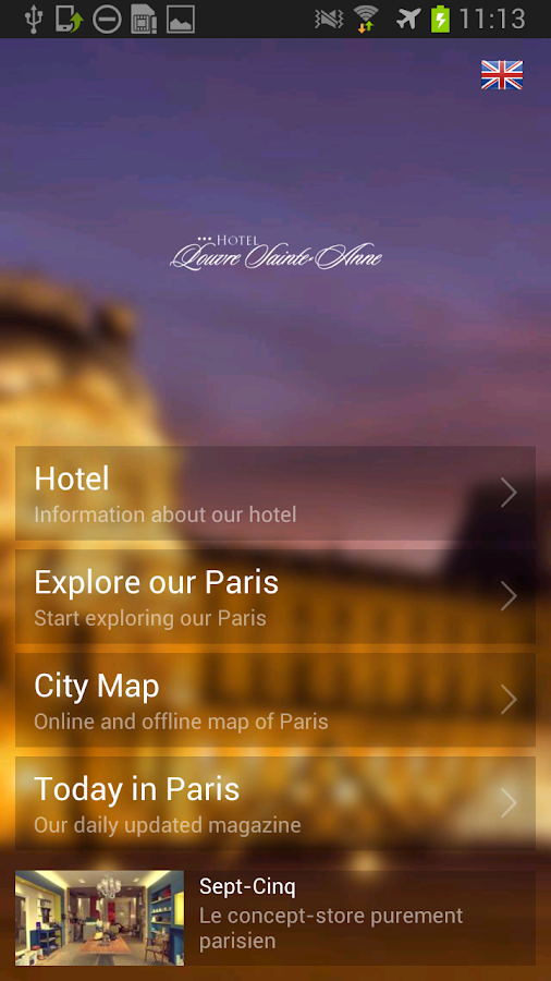 Hotel Louvre Sainte-Anne- screenshot