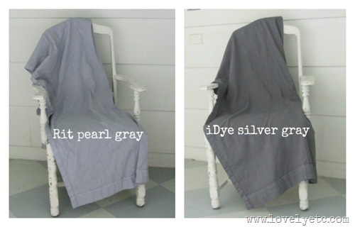 How To Dye Fabric Gray Lovely Etc