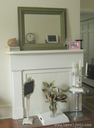 office mantle