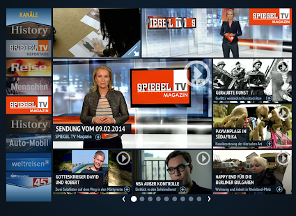 SPIEGEL.TV - screenshot thumbnail