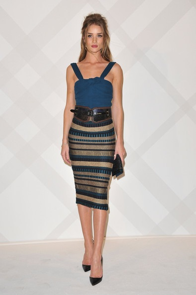 Rosie Huntington Whiteley Burberry Celebrates