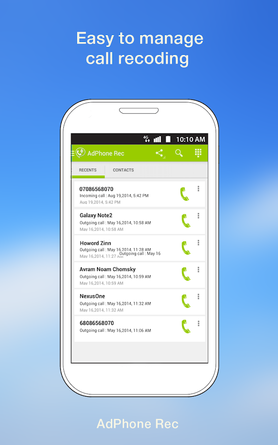 Automatic Call Recording Android Apps On Google Play