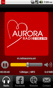 Radio Aurora 100.7 FM - screenshot thumbnail