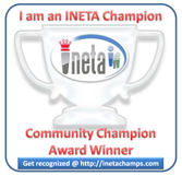 INETA Community Champion Award, 2011 - Kunal Chowdhury