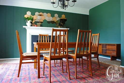 found midcentury teak dining set & Found: Danish Teak Dining Set - The Gathered Home