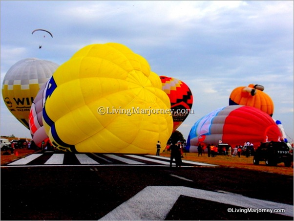 LivingMarjorney: 18th Phil. Int'l Hot Air Balloon Fiesta Kick Off!