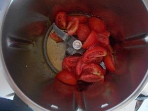 step 2 Pasta con fagiolini e pomodori freschi