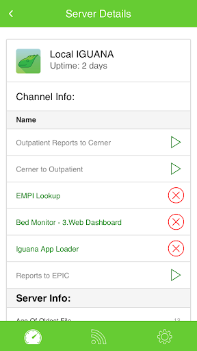 Remote Interface Monitor