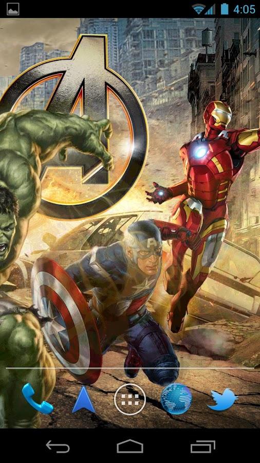 The Avengers Live Wallpaper - screenshot