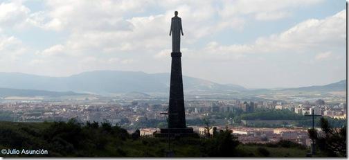 Sagrado Corazón del monte Ezkaba - Pamplona