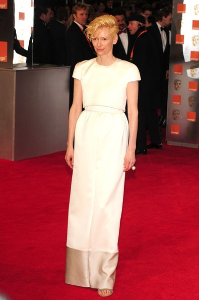 Tilda Swinton attends the Orange British Academy Film Awards