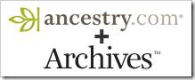 Ancestry.com.最终确定archives.com购买