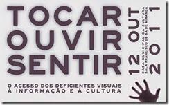 Congresso Tocar, Ouvir, Sentir em Coimbra (cartaz do evento)