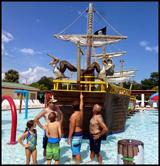 03b - Everybody in the Kiddie Pool - See that bucket of water up there