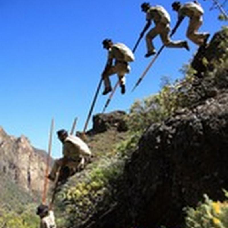 Salto del pastor - (Juegos Tradicionales Canarios)