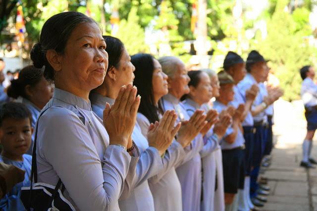 IMG 1718 Đại lễ Phật đản PL 2557 tại Tu viện Quảng Hương Già Lam