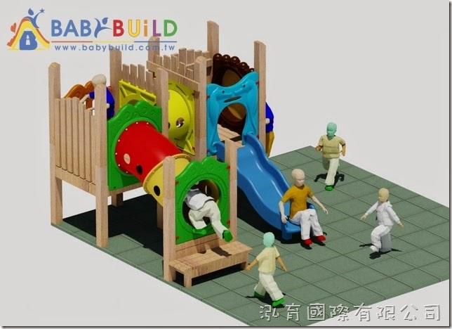 BabyBuild 加拿大檜木木頭遊具