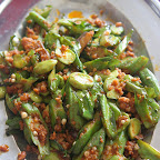 Dish 5 - Friend petai with lady fingers