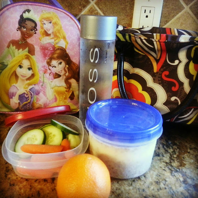 Kid's Bag Lunch and Momma Snack Pack