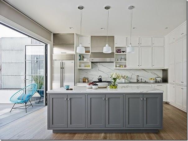 Stunning Cucina Bianca E Grigia Photos - Home Design Inspiration ...