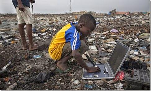 Resultado de imagen para problematica ambiental en Agbogbloshie