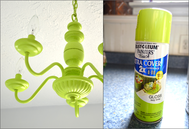 rustoleum key lime spray paint