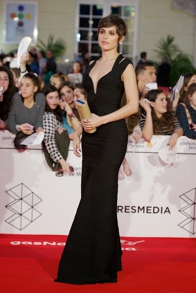 Veronica Echegui attends the 17th Malaga Film Festival 2014