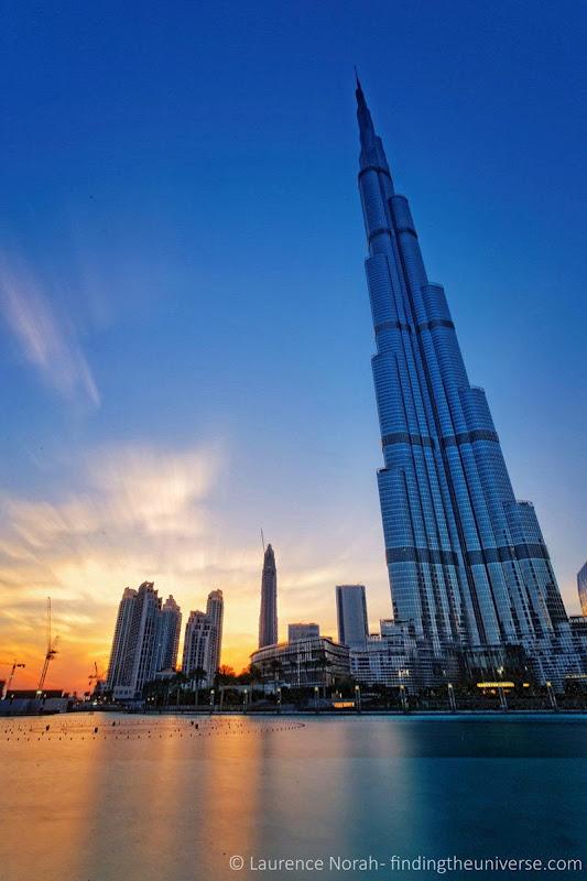 Burj sunset dubai scaled