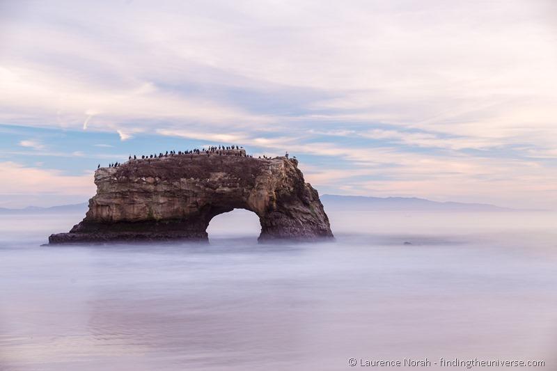 Day trip to Santa Cruz California Rock arch