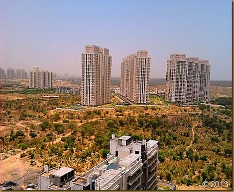 The Gurgaon Skyline